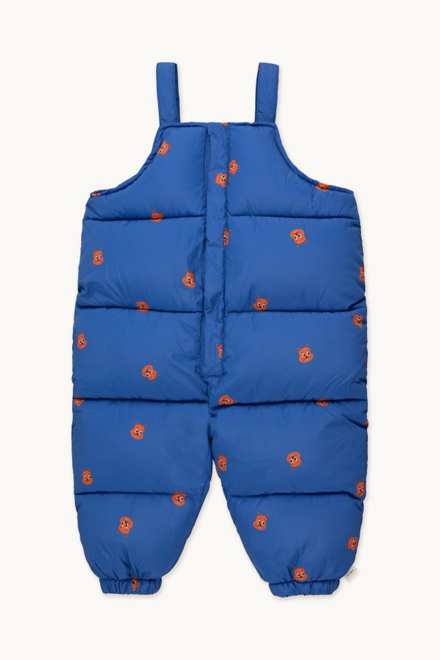SQUIRRELS PADDED DUNGAREE