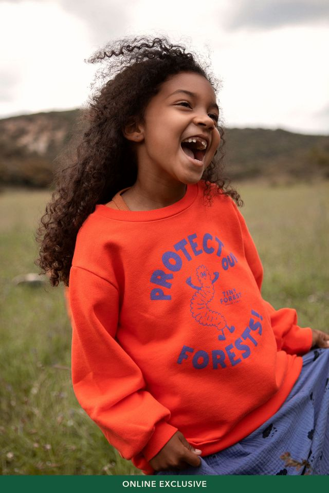 PROTECT OUR FORESTS SWEATSHIRT