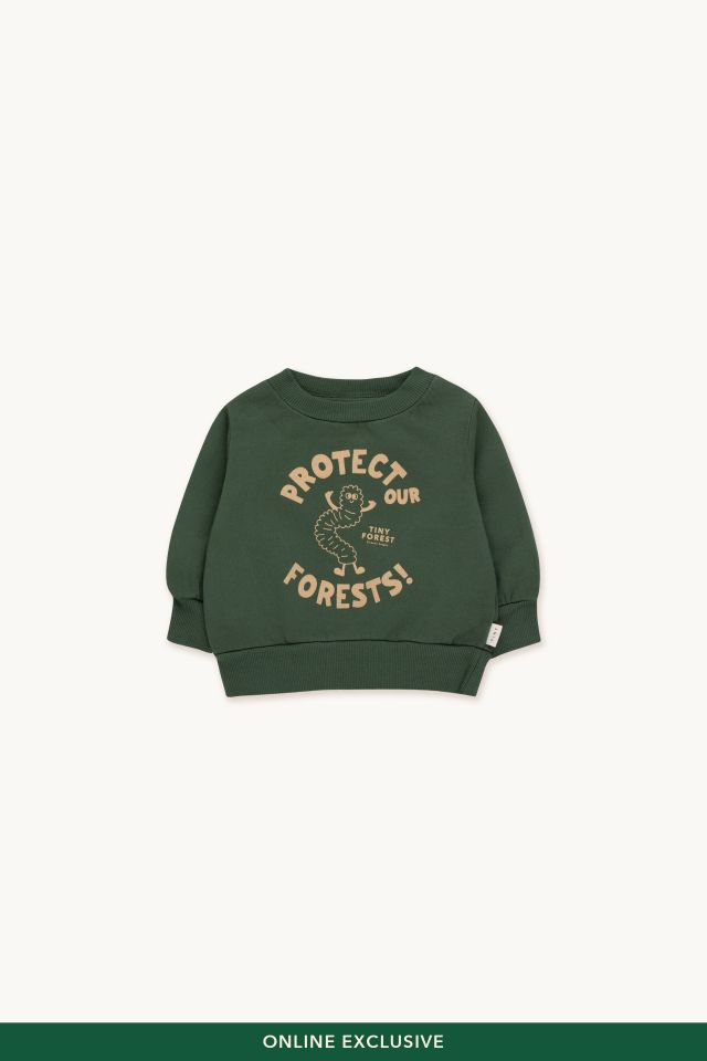 PROTECT OUR FORESTS BABY SWEATSHIRT