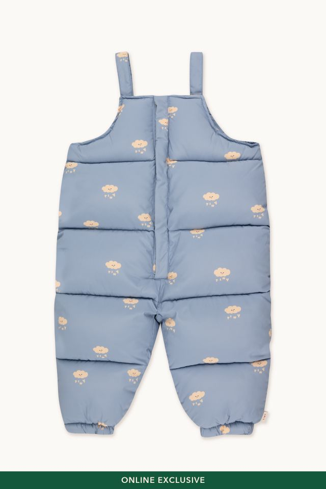TINY CLOUDS PADDED DUNGAREE