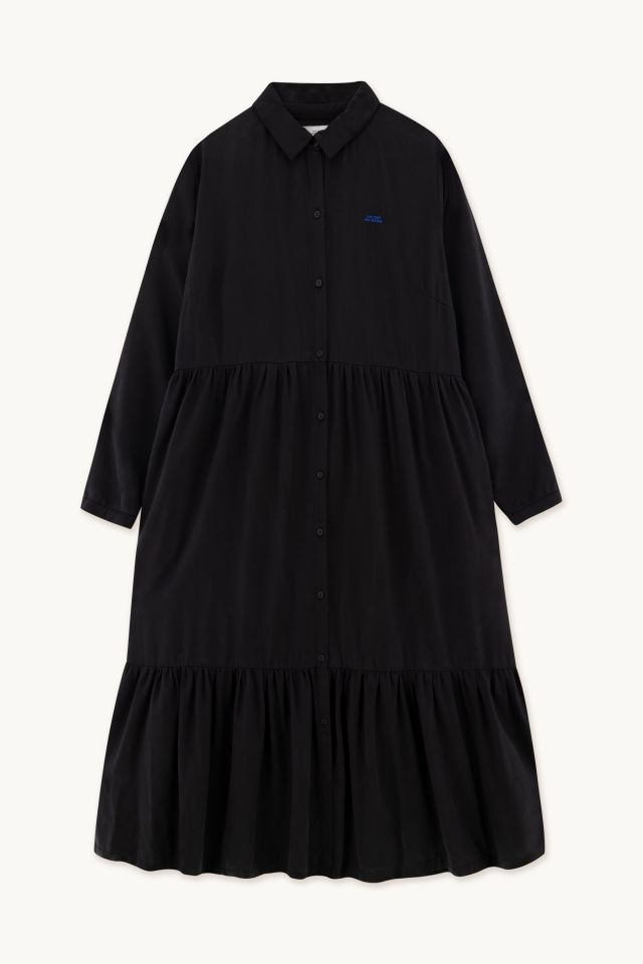 WOMAN LYOCELL TIERED DRESS