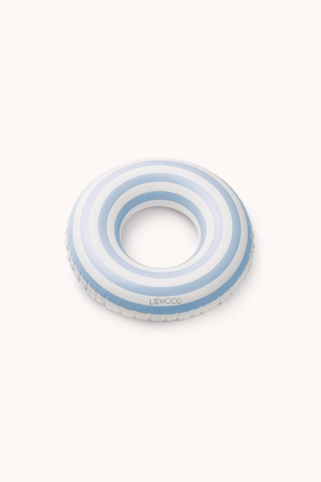 Baloo Swim Ring - Stripes sea blue/creme