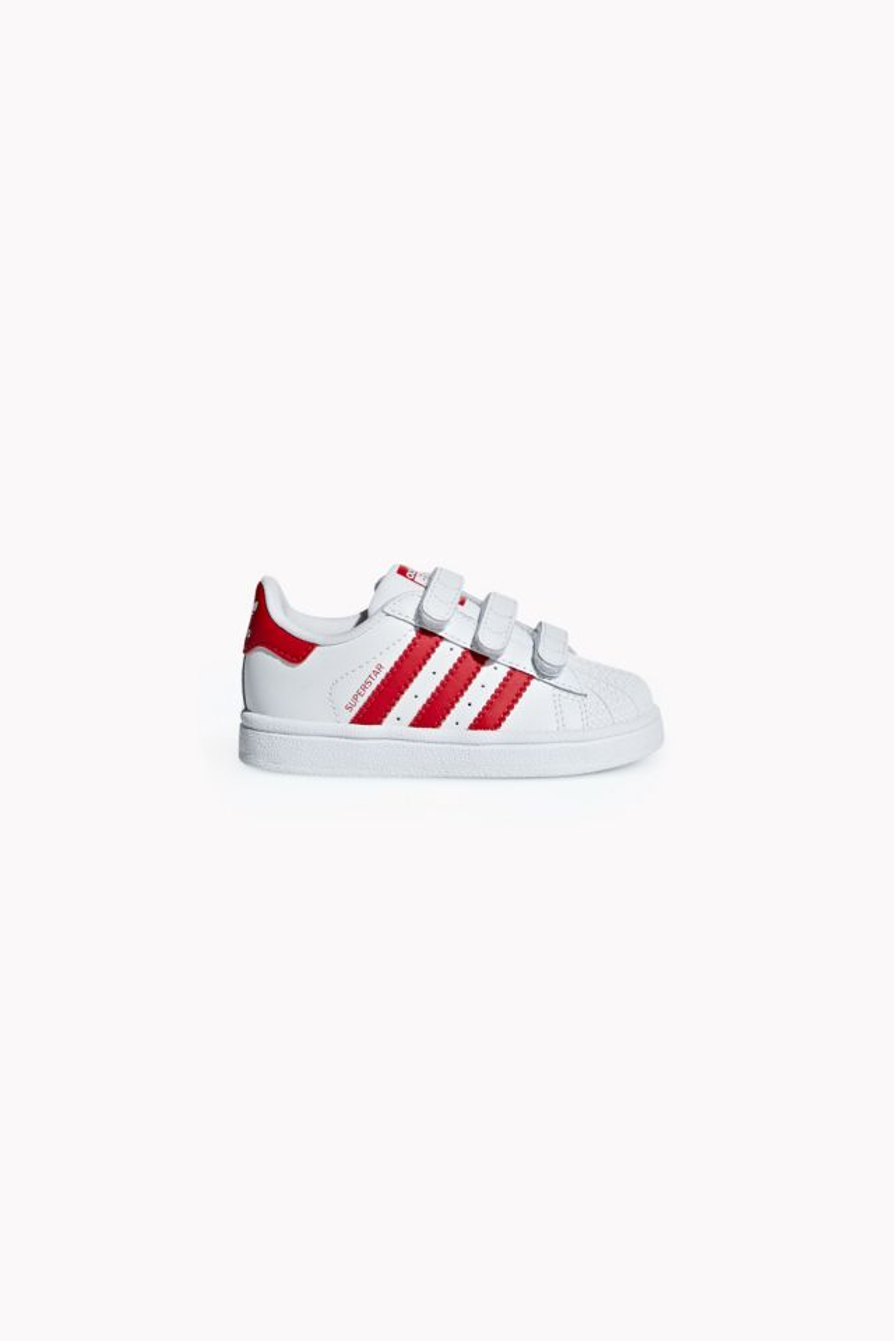 Adidas Superstar - ftwr white/scarlet/scarlet