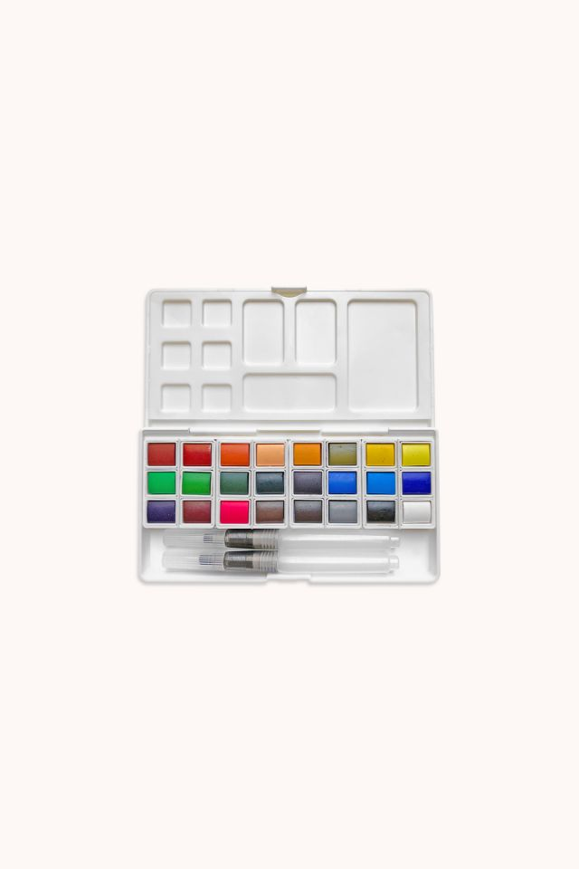 OOLY - Chroma Blend Watercolor Travel Palette