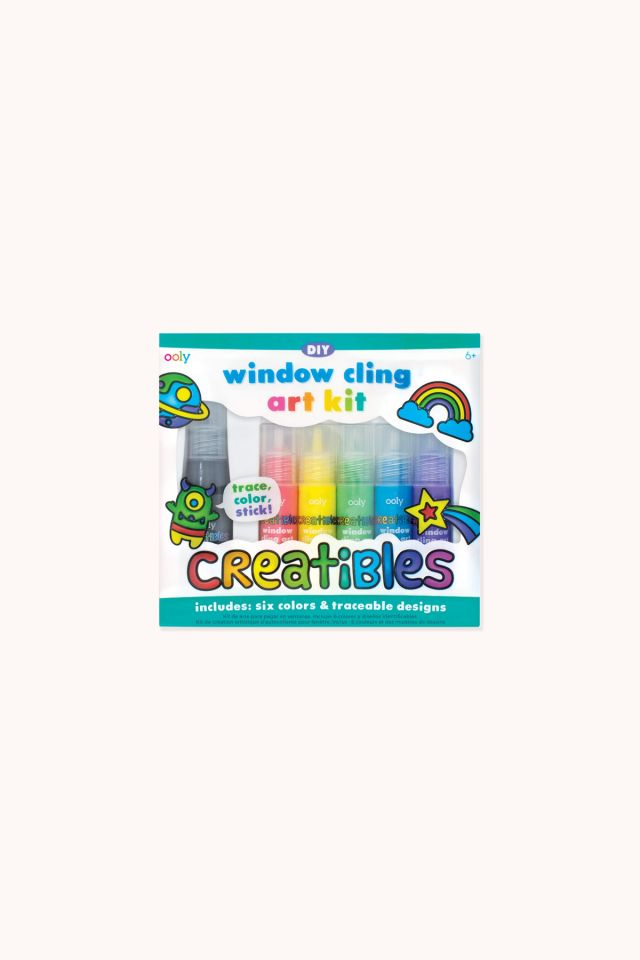 Creatibles DIY Window Cling Art