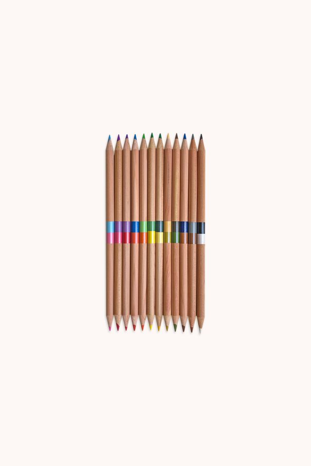 OOLY - Double ended Colored Pencils - Set of 12