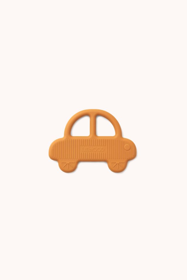 Gemma Teether Car - Mustard