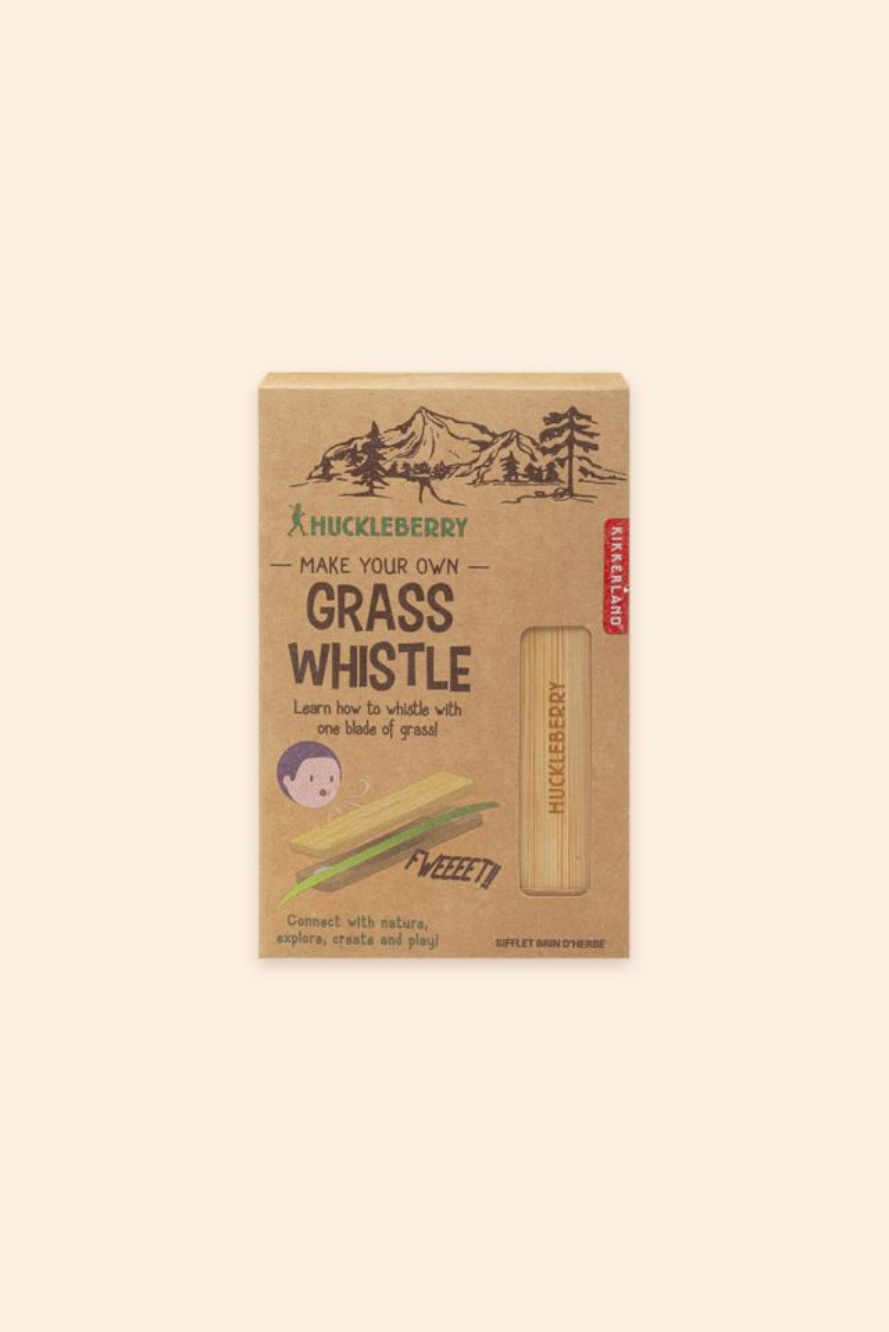 Huckleberry Grass Whistle