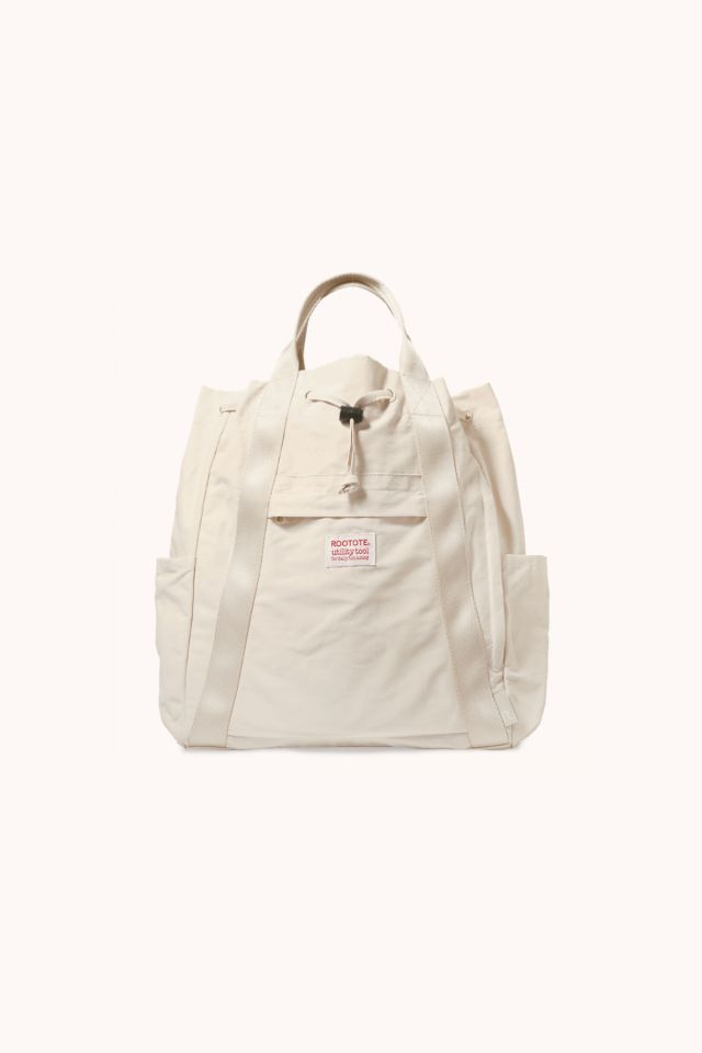 Rootote - Bag Ceoroo Tall - White