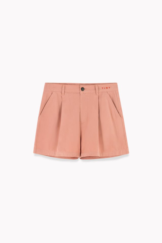 WOMAN SHORT terracotta