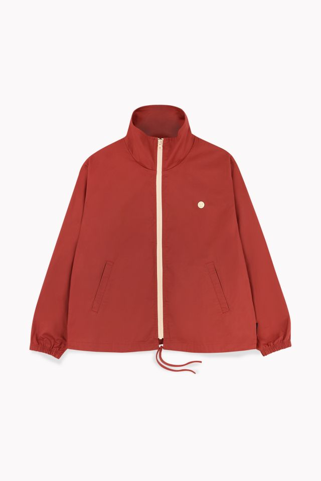 "WOMAN ""HAPPY FACE"" JACKET sienna"
