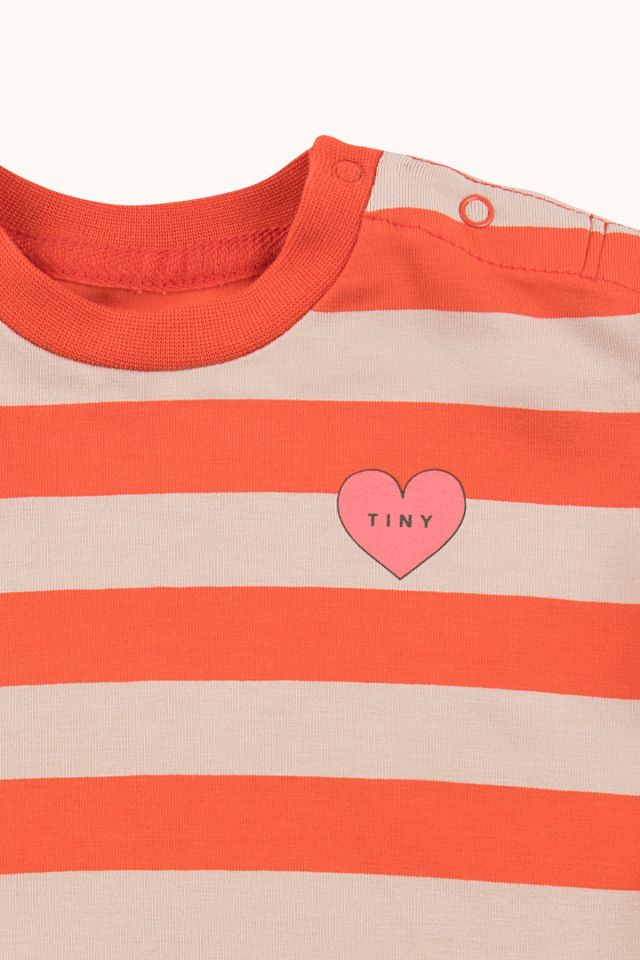 """HEART"" STRIPES TEE"