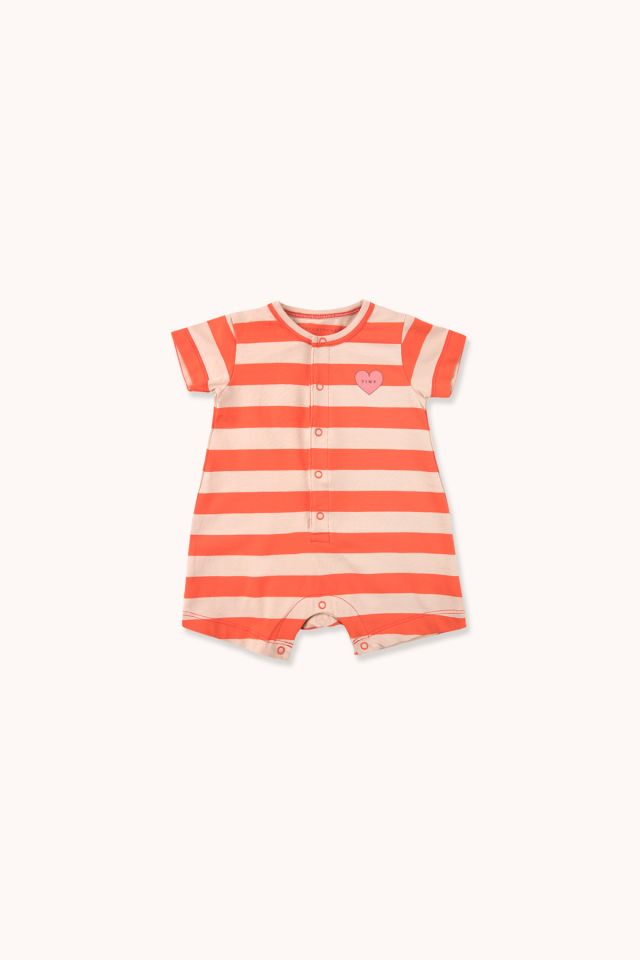 """HEART"" STRIPES ONE-PIECE"