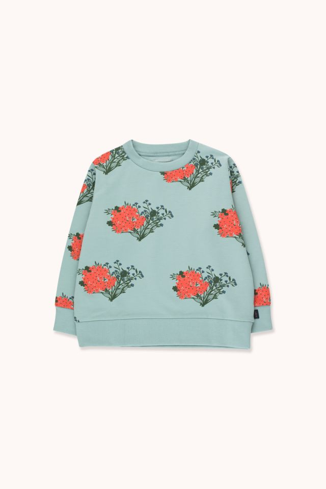 """FLOWERS"" SWEATSHIRT"