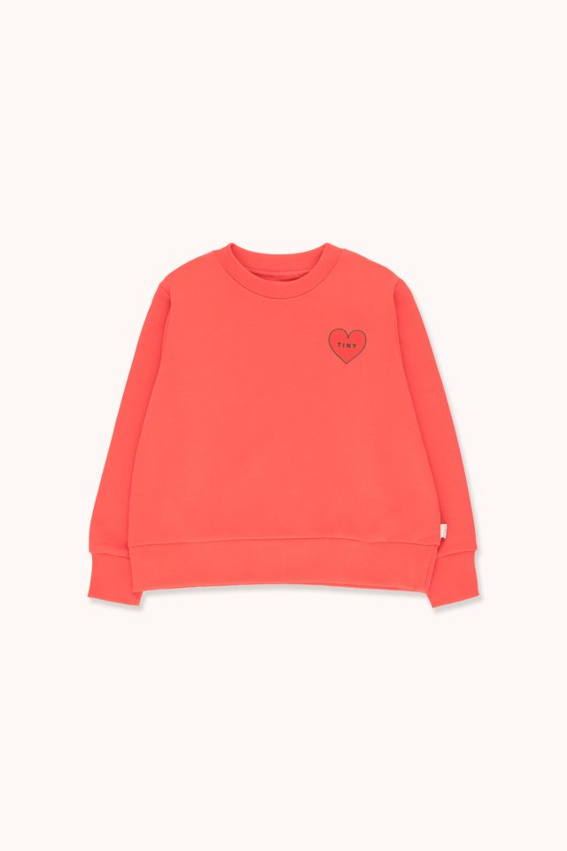"""TINY HEART"" CROP SWEATSHIRT"