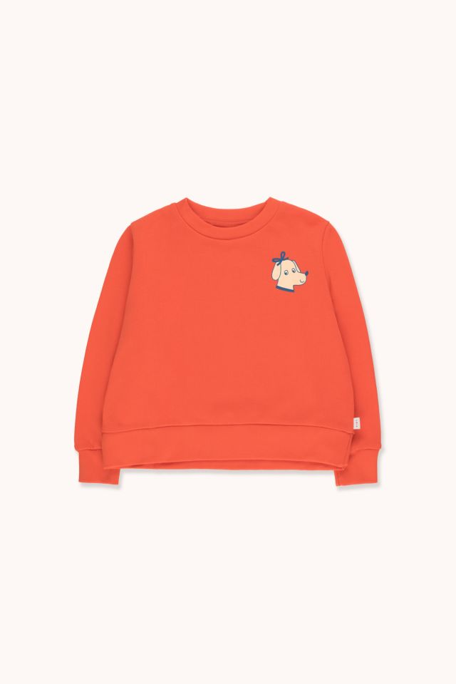 """ELEGANT DOG"" CROP SWEATSHIRT"