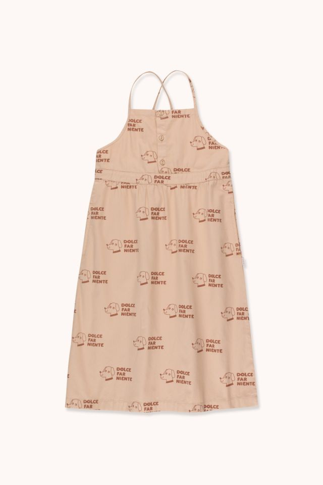 """DOGS"" CROSS BACK DRESS"