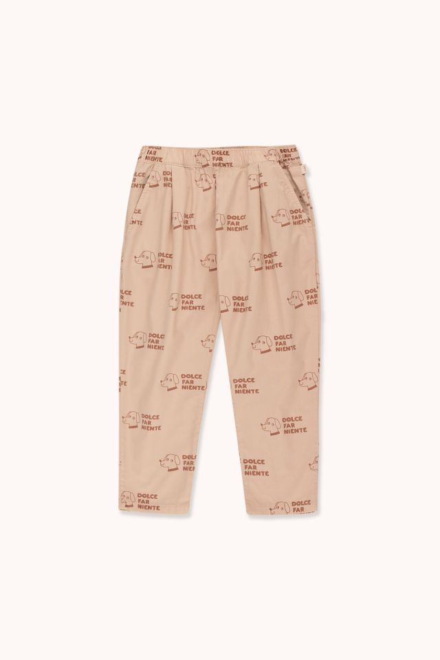 """DOGS"" PLEATED PANT"