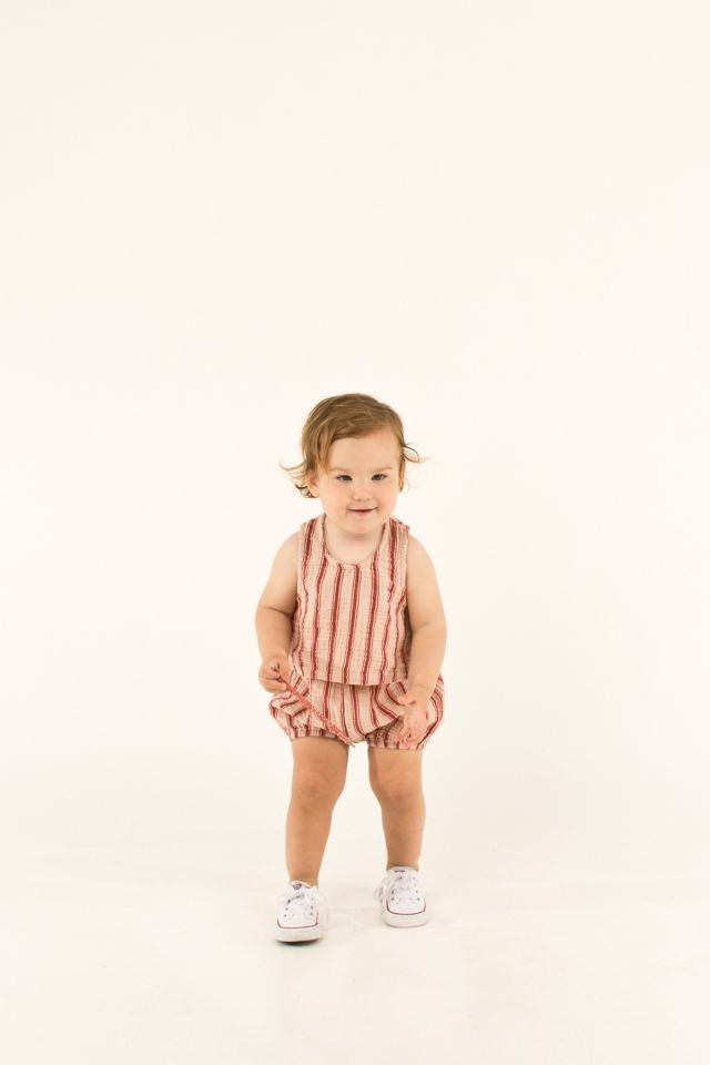 """RETRO STRIPES"" BABY BALLOON SHORT"