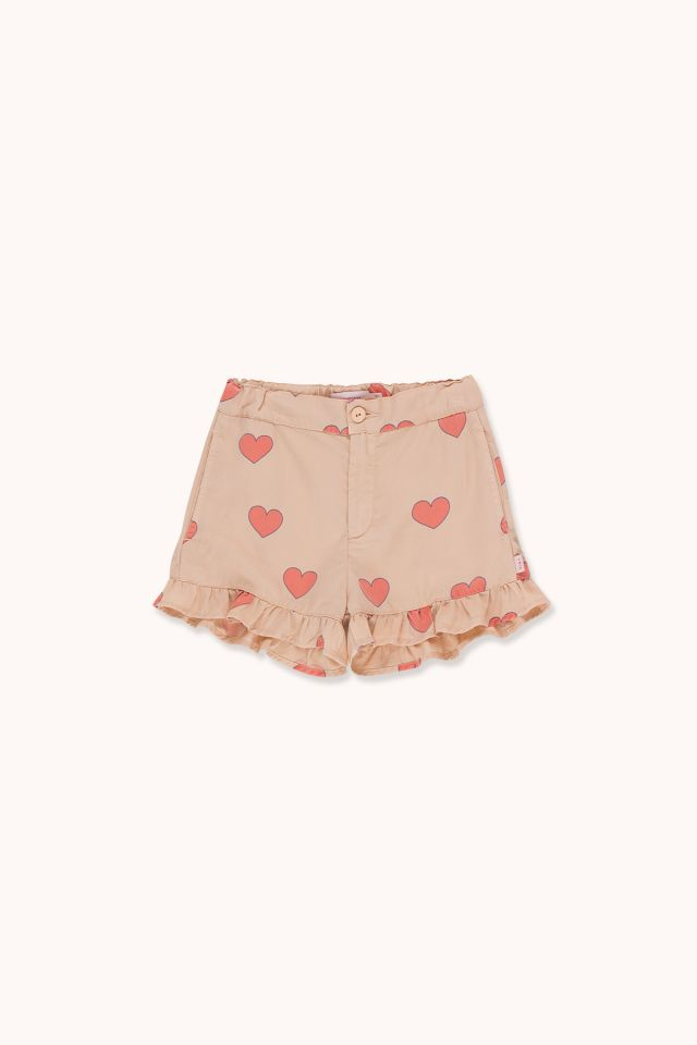 """HEARTS"" FRILLS SHORT"
