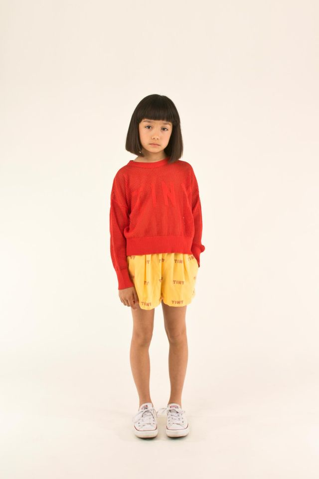 """TINY"" PLEATED SHORT"