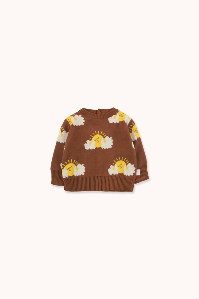 """SLEEPY SUN"" BABY SWEATER"