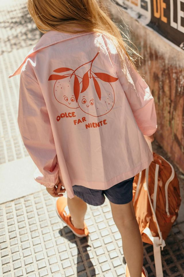 """ORANGES"" JACKET"