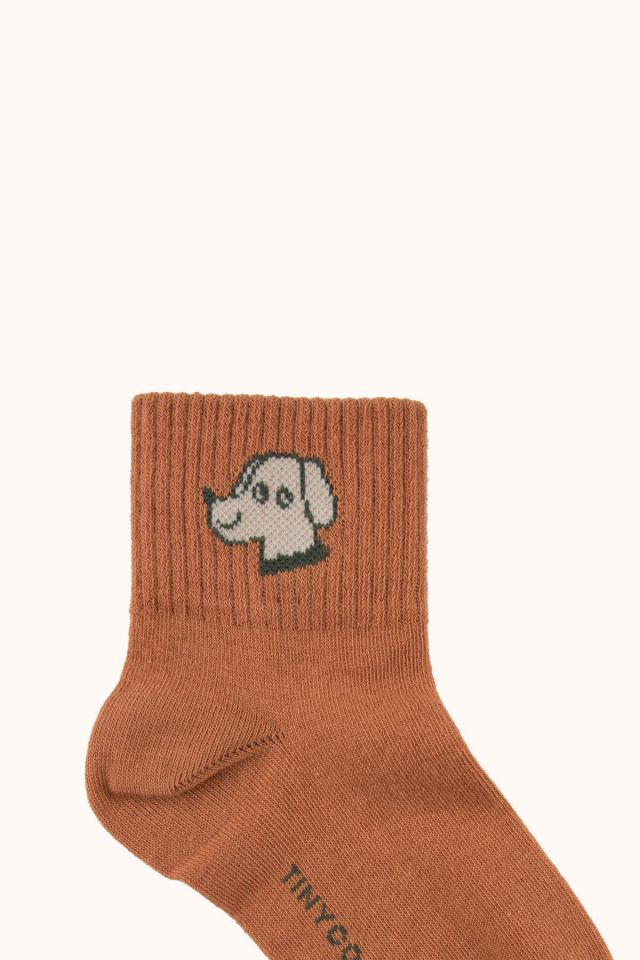 """DOG"" QUARTER SOCKS"