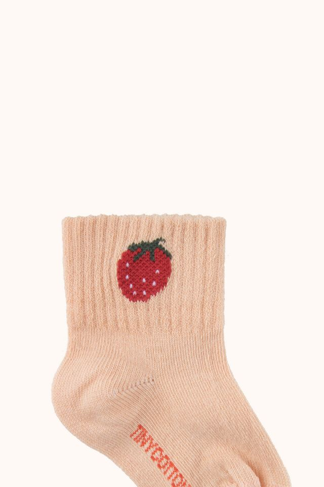 """STRAWBERRY"" QUARTER SOCKS"
