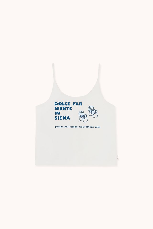 "WOMAN ""DFN IN SIENNA"" TANK TOP"