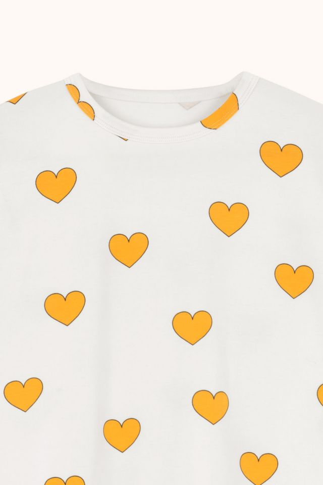 "WOMAN ""HEARTS"" RELAXED TEE"
