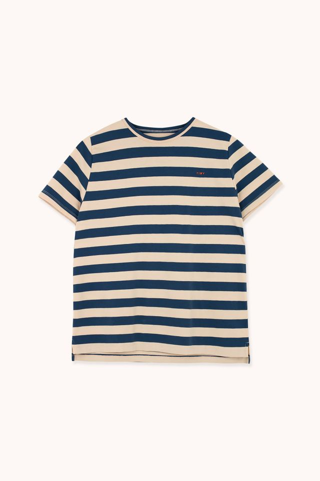 "WOMAN ""TINY"" STRIPES RELAXED TEE"