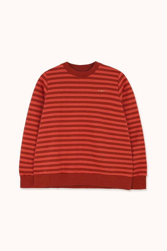 WOMAN STRIPES SWEATSHIRT