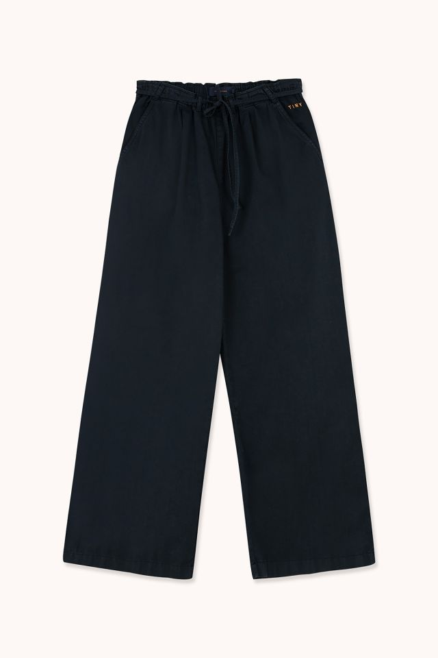 WOMAN WIDE PLEATED PANT