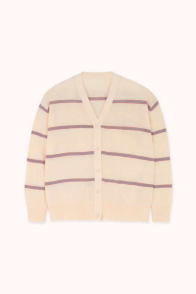 WOMAN STRIPED CARDIGAN
