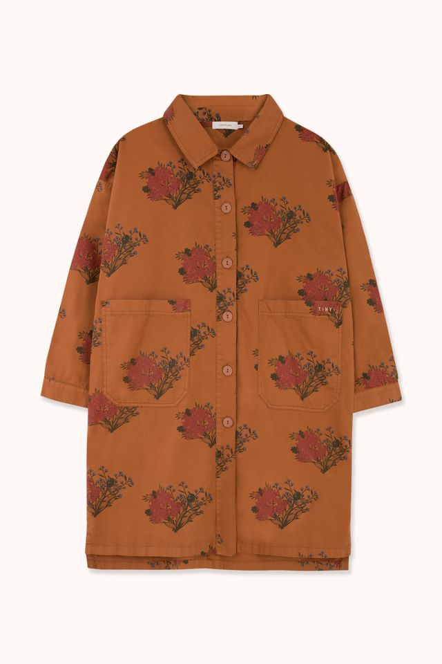 "WOMAN ""FLOWERS"" OVERSHIRT"