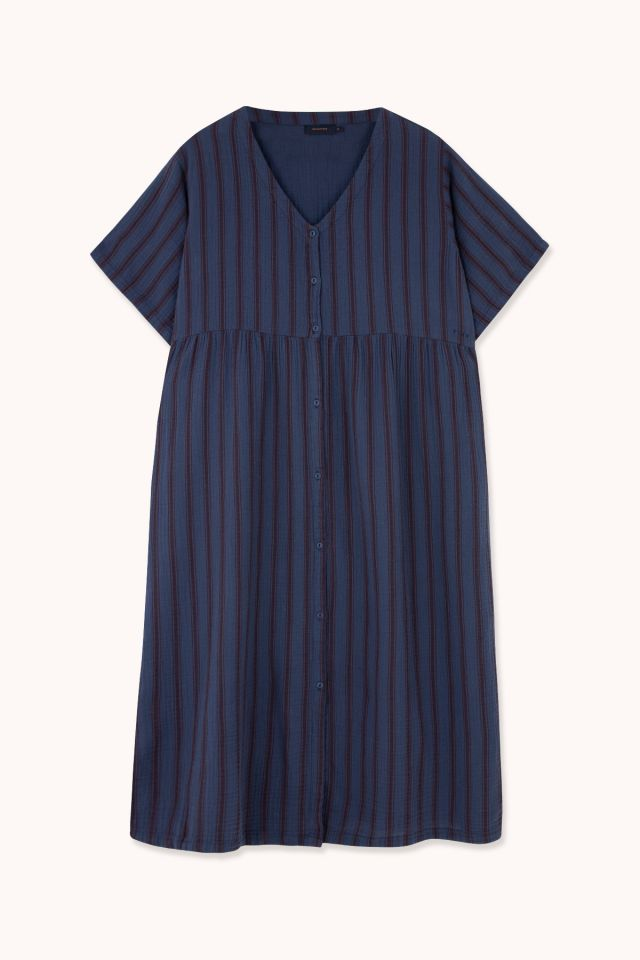 "WOMAN ""RETRO STRIPES"" LONG BEACH DRESS"