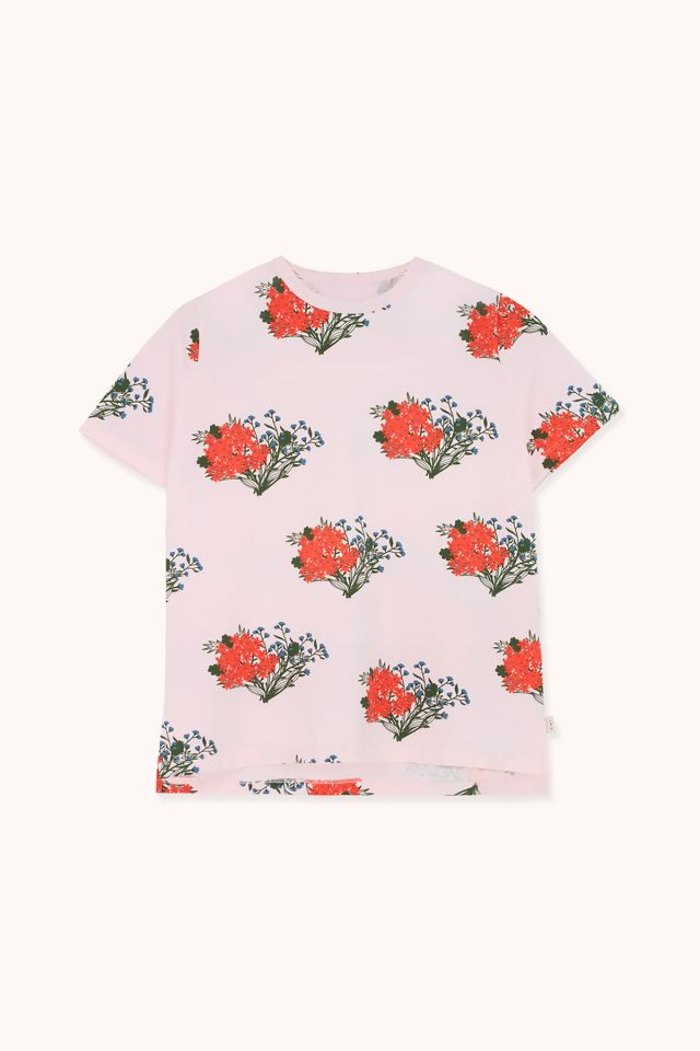 "WOMAN ""FLOWERS"" RELAXED TEE"