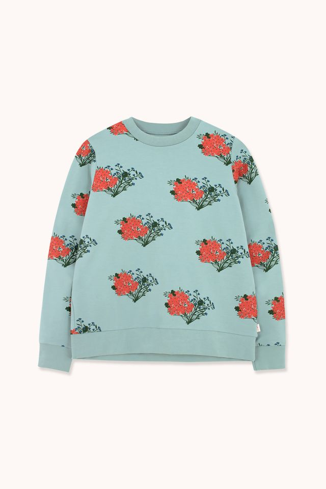 "WOMAN ""FLOWERS"" SWEATSHIRT"