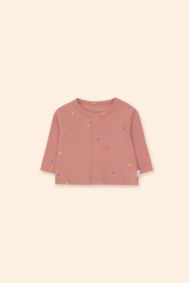 ICE CREAM DOTS BABY CARDIGAN