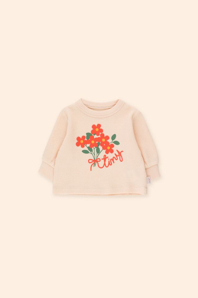Sudadera bebé Tiny Bouquet