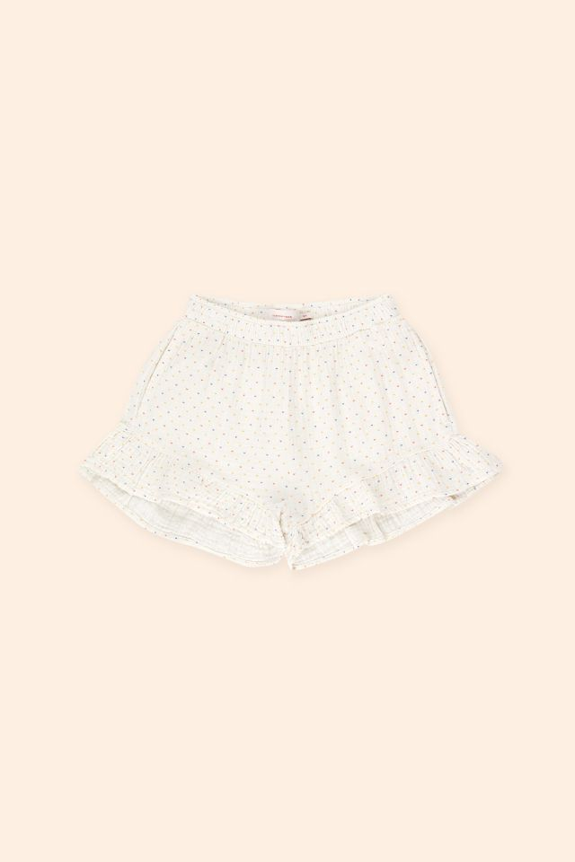 SPECKLES FRILLS SHORT