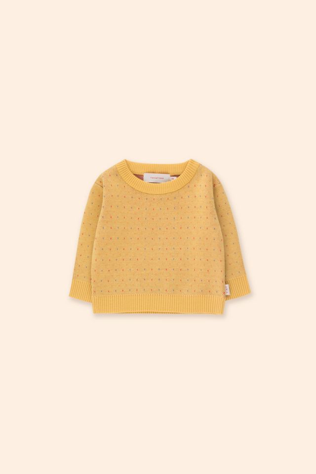 SPECKLES BABY SWEATER
