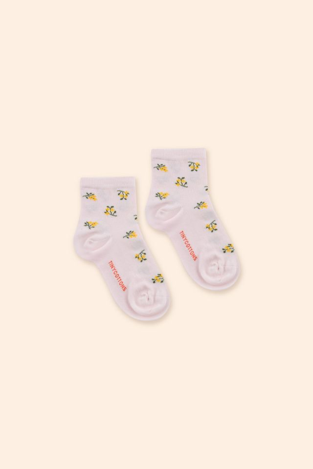 TINY FLOWERS QUARTER SOCKS