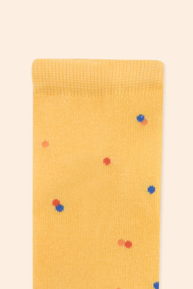 ICE CREAM DOTS QUARTER SOCKS
