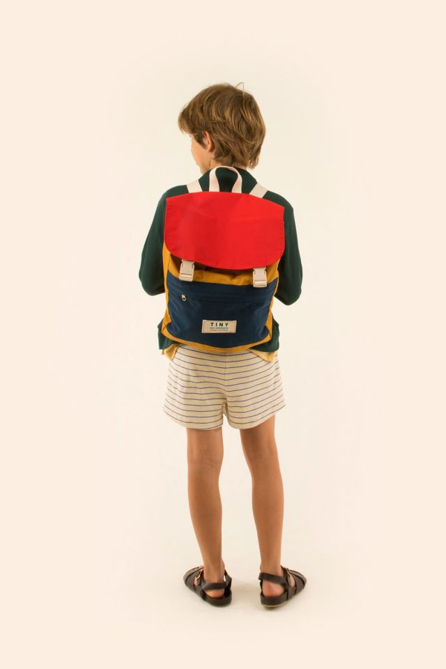 TINY COLOR BLOCK BACKPACK