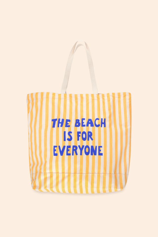 THE BEACH IS FOR EVERYONE TOTE BAG
