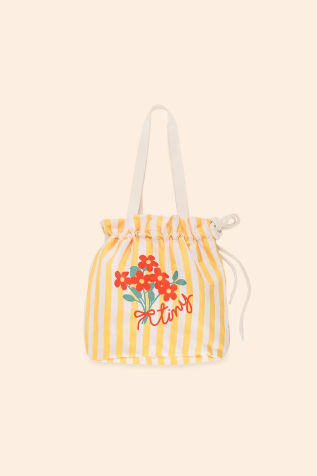 TINY FLOWERS BEACH BAG