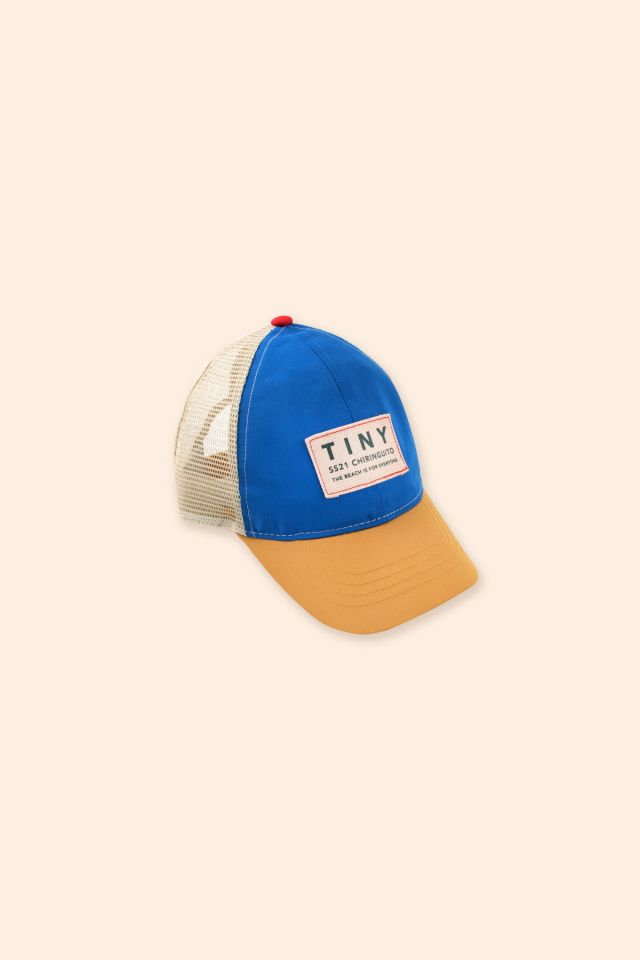 COLOR BLOCK TINY CAP