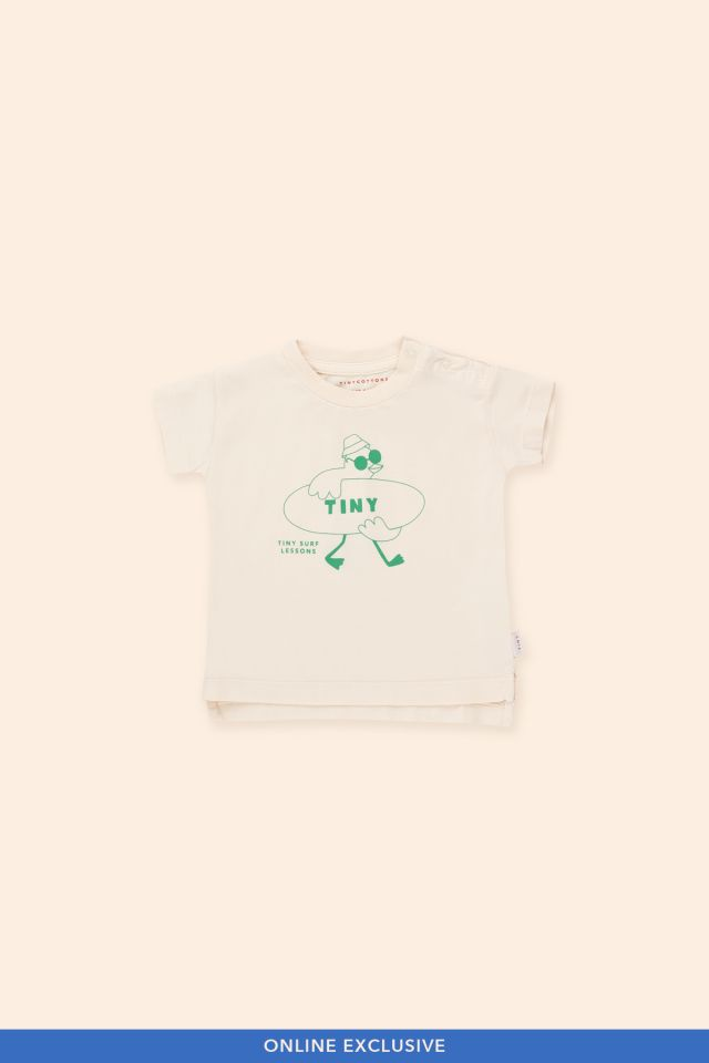 SURF LESSONS BABY TEE